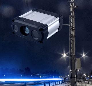 Laser radar at night